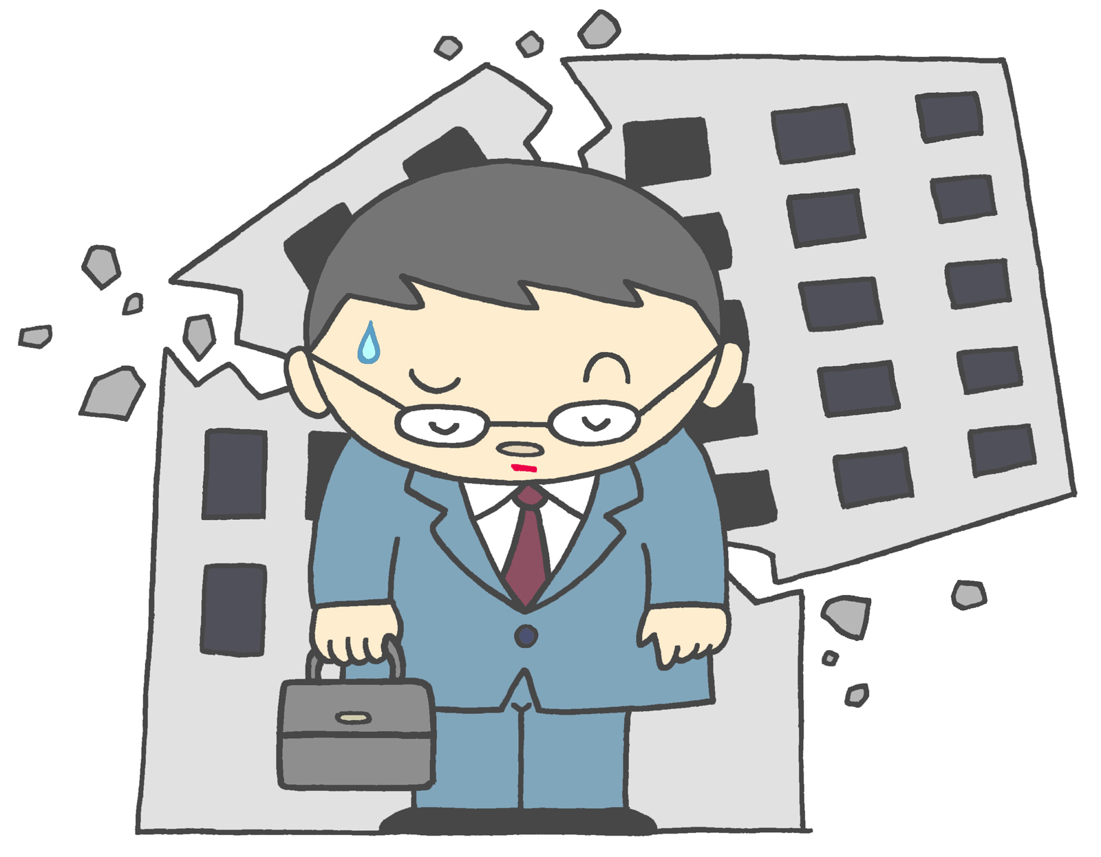 倒産する会社の6つ特徴とは。1日23件倒産している現実がある
